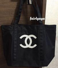 CHANEL PRECISION正規スパンコールトートバッグ☆白