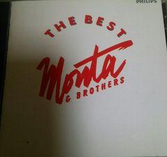 CD もんた&ブラザーズ THE BEST