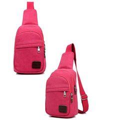 ピンク色 シンプル,使いやすい ショルダーバッグ