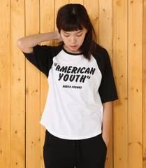 ロデオクラウンズ☆RODEO☆AMERICAN YOUTH 7分袖 Tシャツ