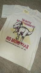 新品恐竜プリントTシャツ