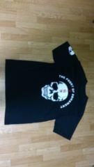 ☆クローズ  武装戦線 背にドクロTシャツ 黒 M★