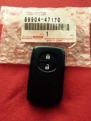 トヨタ純正スマートキー89904-47170 新品未登録品 2ボタン
