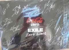 EXILE エグザイル サイン クリアファイル コカコーラ 非売品新品