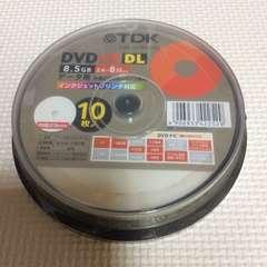 TDK DVD+R DL PCデータ用 ワイドプリンタブル 8.5GB