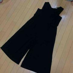 新品◆スタジオクリップ◆サロペットパンツ◆ブラック