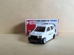 トミカ スズキ MC22 ワゴンR RR (改)