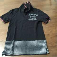 人気完売 チャビーギャング だまし絵ポロシャツ 160cm小さめ