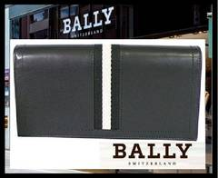 BALLY TALIRO/290 6166474 二つ折り長財布 ブラック 48600円 新品