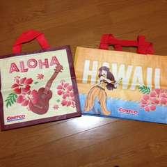 ハワイ限定 コストコ ショッピングバッグ エコトートバッグ 2点セット
