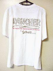 ‡Schott‡ショット‡新品‡バックプリント‡Tシャツ‡全国送料164円‡