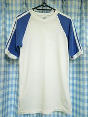 80s USA製 adidas リンガー Tシャツ
