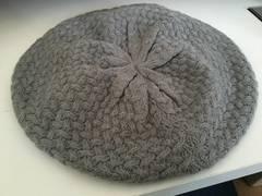 ○FOREVER21○グレーリボンベレー帽○