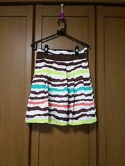 新品、FREE'S  PHRASE スカート、カラフル