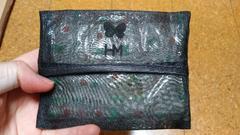 ポケットティッシュケース蝶々のロゴ可愛い