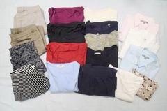 ◆UNIQLO・GU/レディース カジュアル服 まとめ売り 全体18点