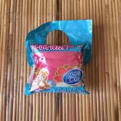 非売品ノベルティ・リラックマ&和柄ペットボトルカバー。ピンク