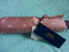 ★新品POLO RALPHLAUREN UV 折りたたみ傘ピンク