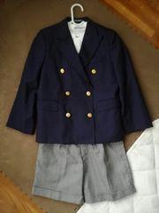 美品男児スーツ3点セット130cm入学式卒園式結婚式発表会