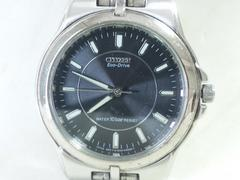 3516/シチズン☆エコドライブグレーダイヤルメンズ腕時計格安出品★