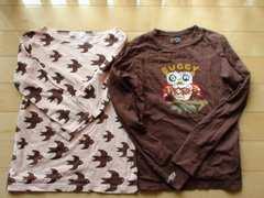 美品Ne-netつばめTシャツ+ブーフーウーダメージTシャツ