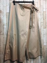 新品☆5Lラップ巻きワイドパンツ♪ウエストゴム5800円を!s176