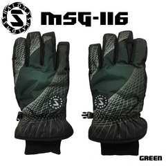 マシャロMASHALO スノーグローブ スキー メンズ MSG-116 GREEN