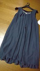 ¥10692新品☆結婚式入学式卒業式…セレモニードレスワンピ/L