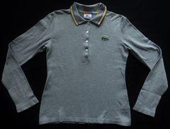 ラコステ LACOSTE 長袖 ポロシャツ カットソー ファブリカ製
