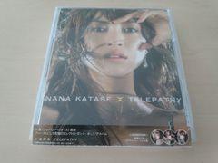 片瀬那奈CD「TELEPATHY」初回盤 DVD付 廃盤●