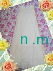 ◆...[新品 イエロー × ホワイトマキシワンピ]...◆