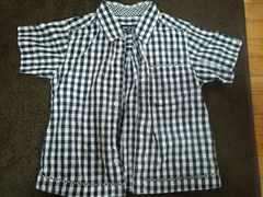 コムサイズム 半袖シャツ 中古美品 110