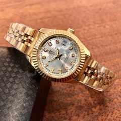 即決・送料無料!ロレックス・デイトジャストタイプ レディース腕時計・シルバー×ゴールド
