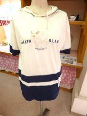 SERAPH BLANCフード付きTシャツ
