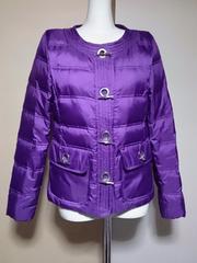 ダブルスタンダードクロージングお色が綺麗なダウンジャケット紫F