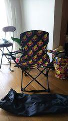 即決ヒステリックミニ折り畳み椅子☆新品