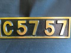 SLのプレート C5757