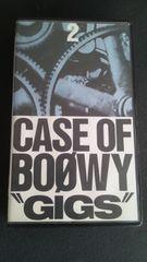 """当時物/中古ビデオ【BOOWY/""""GIGS""""CASE OF BOOWY�A】ボウイ!氷室京介"""