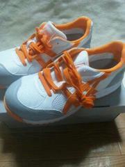 送料込★アシックス安全靴『33白×オレンジ』26cm