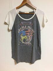 w closet ラグランTシャツ F