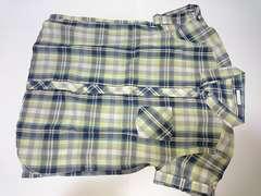 GU (ジーユー) チェックシャツ Lサイズ 重ね着に 未使用