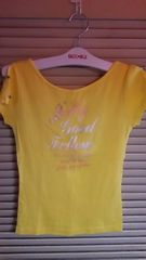 黄色半袖☆