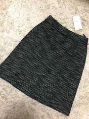 黒☆新品&即決.Vis.ツィード生地上品なスカート/5,292円