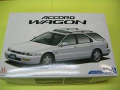 アオシマ 1/24 ザ・モデルカー No.76 ホンダ CF2 アコードワゴンSiR '96 新品