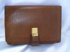 確実本物保証BALLYバリーレザー製お財布機能付セカンドバック