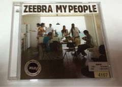 ★ZEEBRA『MY PEOPLE feat.加藤ミリヤ』レンタル落ち★
