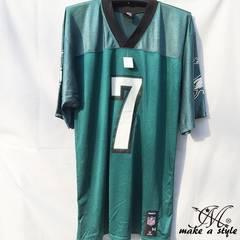 NFL フットボールシャツ Eagles 7 vick グリーン REEBOK M 693