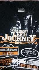 @水樹奈々@LIVE JOURNEY2011 黒Tシャツ 新品未開封 Mサイズ