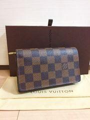 1円 ◆正規品◆ 極上美品 ルイヴィトン ダミエ 新型 財布