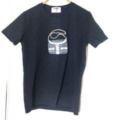 中古 送料200円 ブラック シャネル Tシャツ